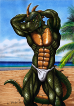 """Fundoshi and Scales"""
