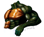 """Reptile: Chest and arm"""