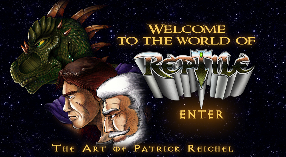 Welcome to the World of Reptile - The art of Patrick Reichel