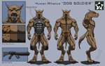 """Character-Sheet: DOG SOLDIER"""