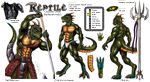 """Reptile Cynrik 2015 Traditional"""