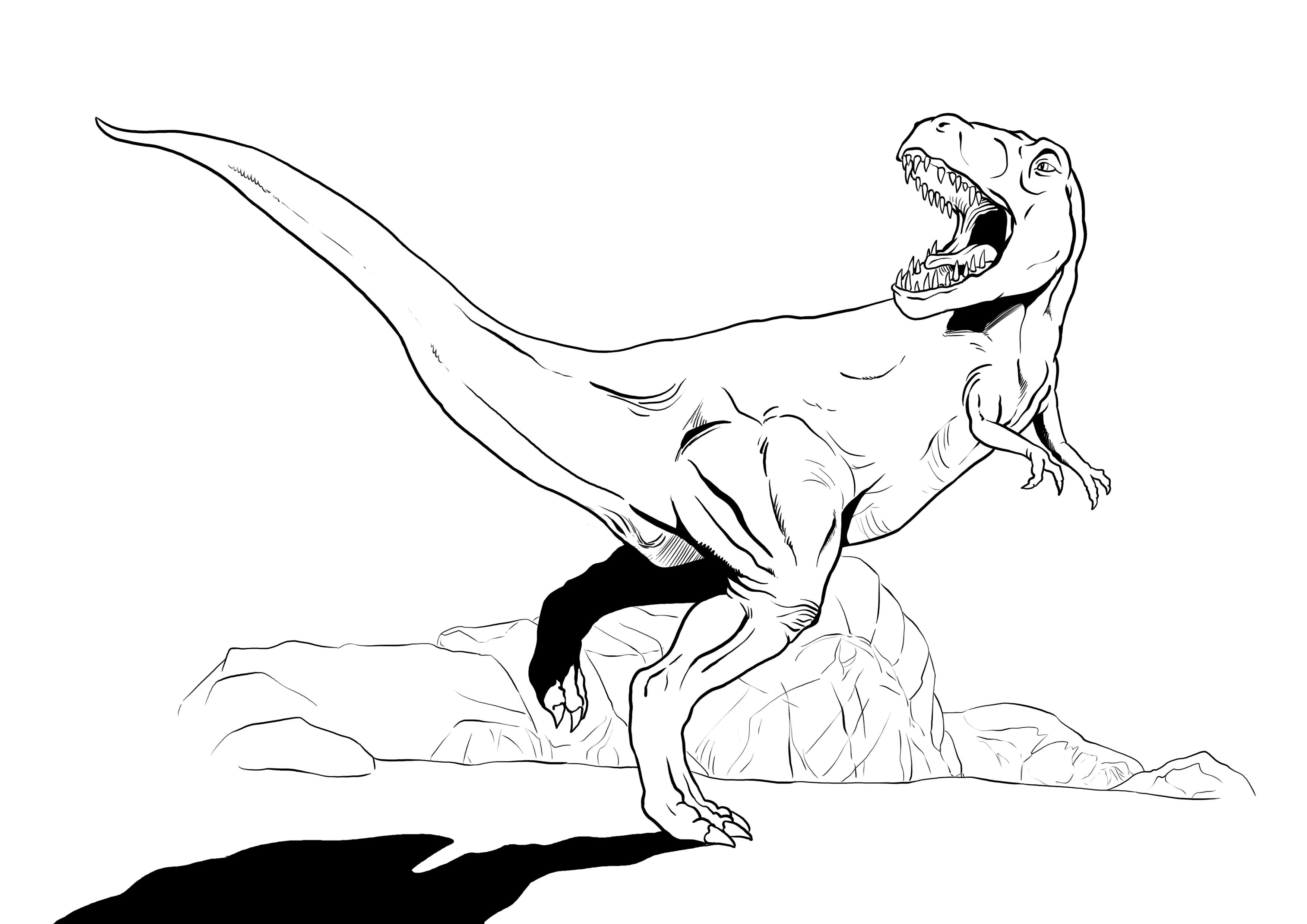 Gemütlich Süße T Rex Malvorlagen Fotos - Beispielzusammenfassung ...